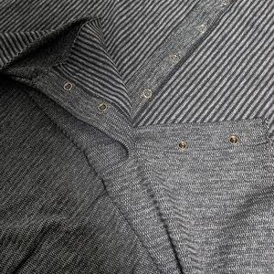 lululemon athletica Accessories - Lululemon Vinyasa Scarf in Wee Stripe Black Slate